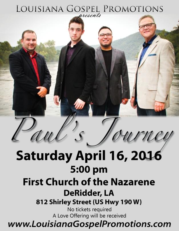 Pauls Journey 16 poster
